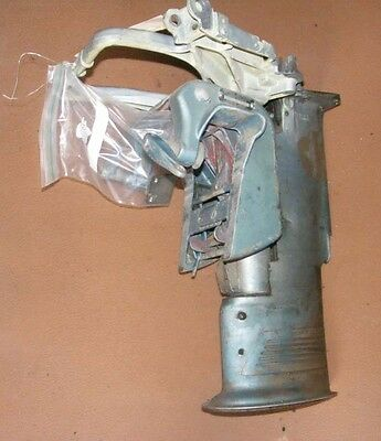 DC4A177 1957 Evinrude Outboard 18 HP Mid Section From Model 15020