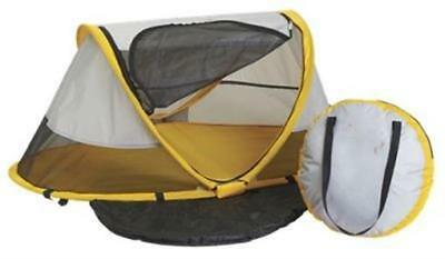 Kidco PeaPod Travel Bed For Kids Sunshine 16.5 x 23 in. Portable Camping Bed New