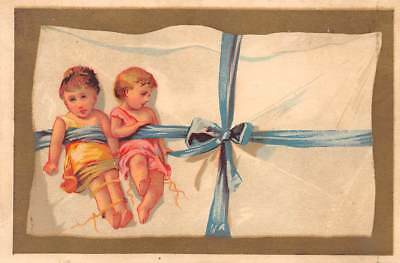 Victorian Trade Card No Advertising Children