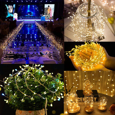10M 200LED Fairy String Star Light Lamp Wedding Xmas Party Outdoor Indoor  Decor