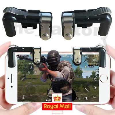 PUBG Mobile Phone Metal Fire Button Gaming Trigger For L1R1 Shooter Controller