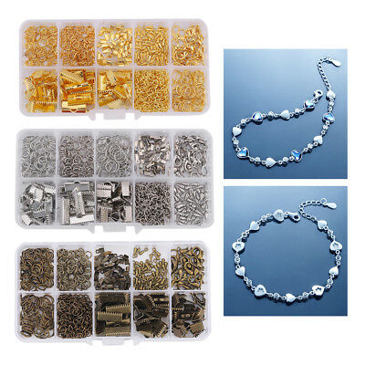 Jewelry Bracelet Necklace Making Kit Finding Set Jewelry Making Supplies Tools