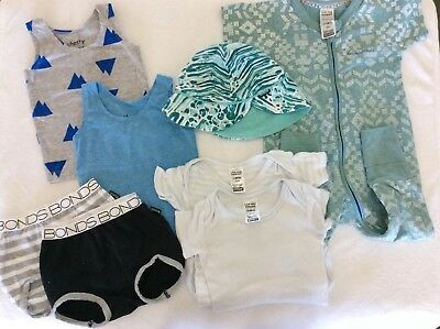 Bonds Boys Summer Bundle (3-6mths & 6-12months)