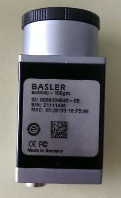 1PC  used    Basler acA640-100gm