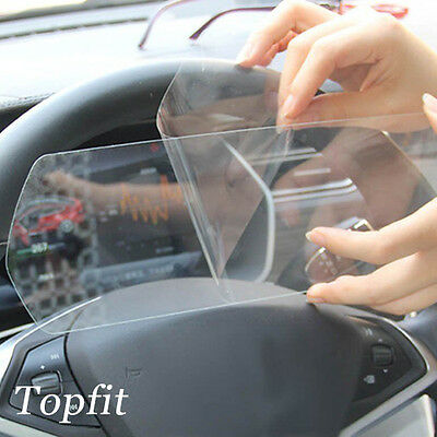 Topfit Tesla Model S and Model X Dash Board Tempered Glass Screen Protector