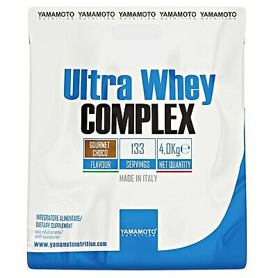 Ultra Whey COMPLEX YAMAMOTO NUTRITION 4000 gr 4 kg PROTEINE ISOLATE CONCENTRATE