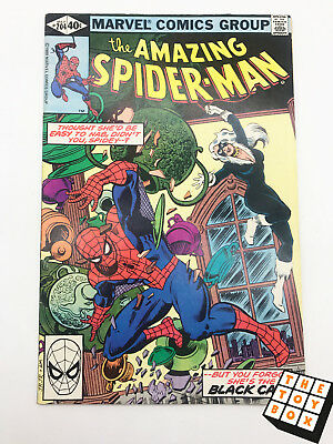 Vintage Marvel Comic Book The Amazing Spider-Man # 204 1980