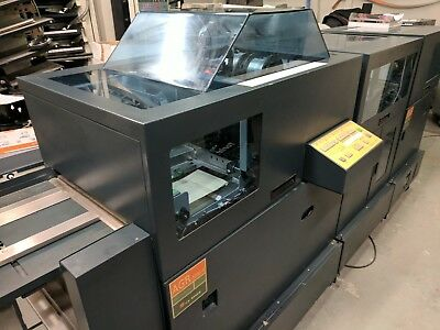 Bourg Automated Bookletmaker +Trim Runs Offline Or Inline With Bourg Model Bstd