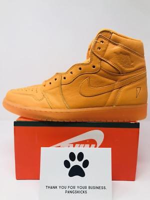 Nike Air Jordan 1 Retro High OG Gatorade 'Orange Peel' AJ5997-880 Size 12