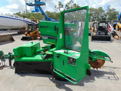 "2013 Vermeer Sc-602 Commercial Duty Towable  ""stump Grinder""  Cat Diesel Powered"