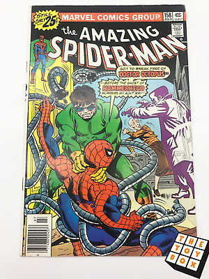 Vintage Marvel Comic Book The Amazing Spider-Man # 158 1976