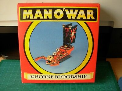Fantasy Man o'War Khorne Flagship Bloodship Boxed Metal Unpainted