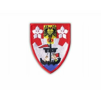 SCARBOROUGH TOWN FLAG WORLD EMBROIDERED PATCH BADGE