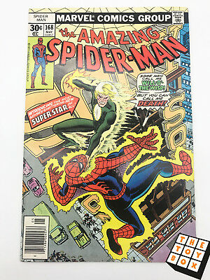 Vintage Marvel Comic Book The Amazing Spider-Man # 168 1977