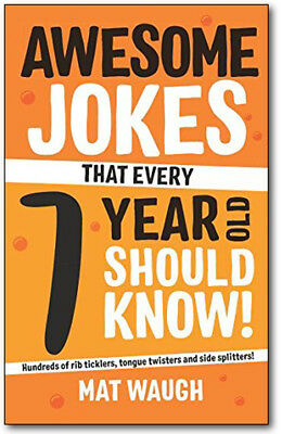 Awesome Jokes That Every 7 Year Old Should Know! Paperback *BRAND NEW*