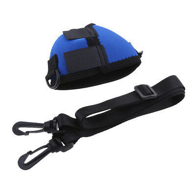 Wine Glass Insulator Neoprene Sleeve Cooler with Adjustable Neck Strap