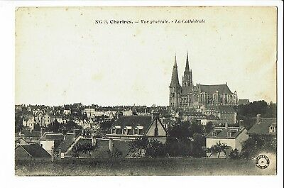 CPA - Carte postale -FRANCE -  Chartres - Panorama -  S2045