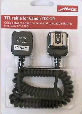 METZ TTC-10 CABLE for CANON TTL cable Canon Eos TTL Lead