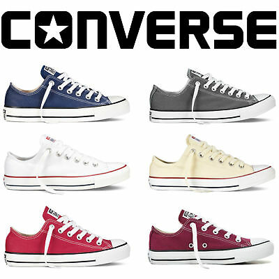 2018 ALL Stars Casual Mens Womens Low Top Chuck Taylor Trainers Shoes UK Stock