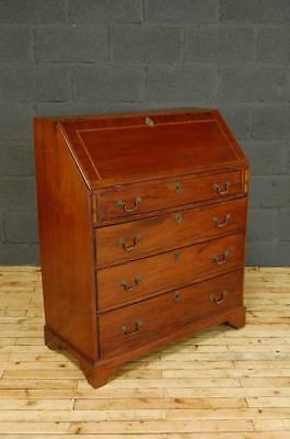 Antique Edwardian Mahogany Bureau