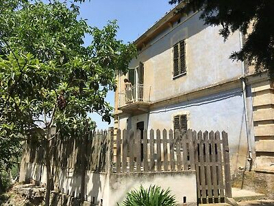 REDUCED Seaside Detached Villa & Land to Restore in Italy