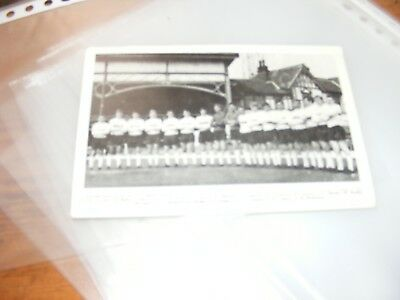 1968/9  Bradford Park Avenue Team Photo Original Postcard