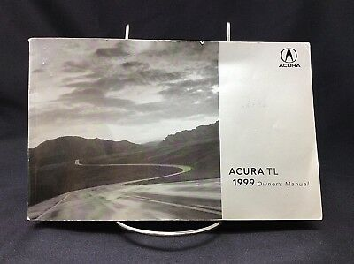 1999 ACURA TL Owners Manual