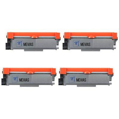 4pk TN660 High Yield Black Toner Cartridge for Brother DCP-L2540DW HL-L2300D