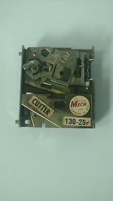 Vintage Arcade COIN MECH Cutter 25 cent Coin Mechanism Used
