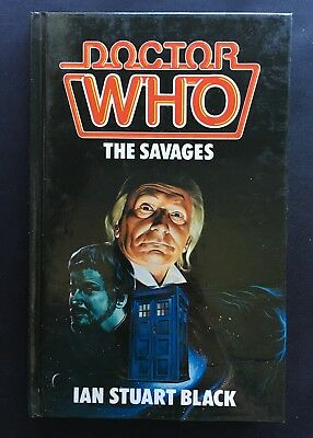 Doctor Who - The Savages - W H Allen Hardback Hardcover