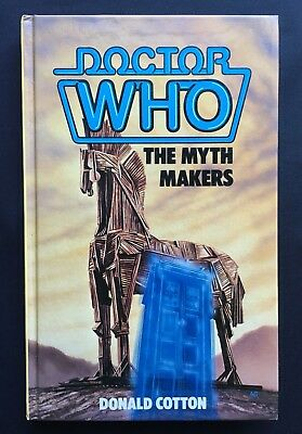Doctor Who - The Myth Makers - W H Allen Hardback Hardcover