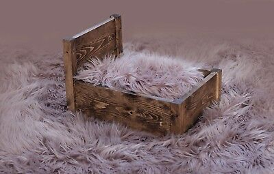 Handmade newborn bed photography props