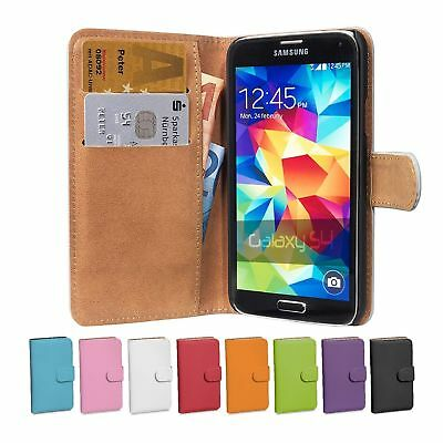 Leather Case for Samsung Galaxy S4 Smart Luxury Wallet Stand Cover High Quality