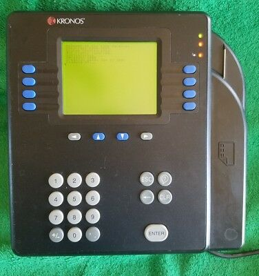 Kronos 4500 Proximity Time Clock Ethernet 8602004-003