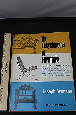 The Encyclopedia of Furniture Third Edition Completely Revised Aronson 1965