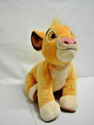 Disney Store Large Simba & Small Nala Cubs Soft Toys The Lion King