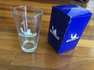 Michelin beer glass, collectible automobilia