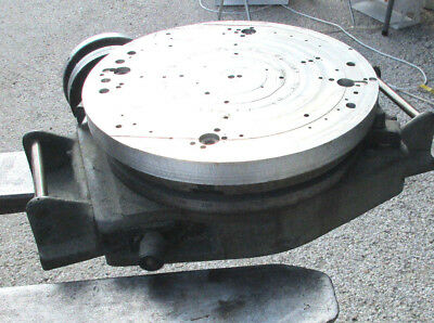 Bridgeport 12 Rotary Table Serial No. 20988