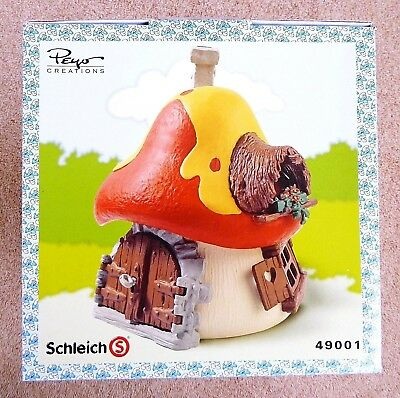 Schleich The Smurfs 49001 Large House New Sealed Box