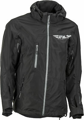 Carbon Riding Jacket Black Large Fly Racing 470-4040L
