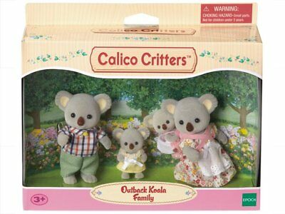 SYLVANIAN FAMILIES CALICO CRITTERS OUTBACK KOALA FAMILY ADULT MOTHER FATHER