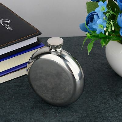 Tool Round Wine Flask Glossy Specular Flask 5OZ Portable Flagon Pocket Bottle