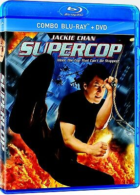 NEW BLU RAY + DVD - SUPERCOP - POLICE STORY 3 - - Jackie Chan, Michelle Khan,