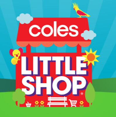 Coles Little Shop Mini Collectables - Choose Which Ones You Need!!!