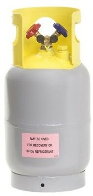 Refrigerant Recovery Reclaim Cylinder Tank - 30lb Pound 400 PSI NEW Reusable