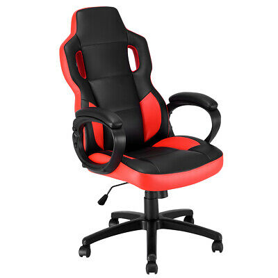 Gaming Chair Executive Office Chair Racing Style Swivel Desk Task Computer Chair