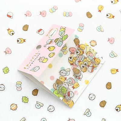 80pcs Stickers Cute Anlimals DIY Stickers Japanese Kawaii-Stickers: