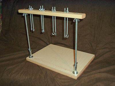 Deluxe Book Sewing frame for bookbinding on keys and tapes binding keys ....2846