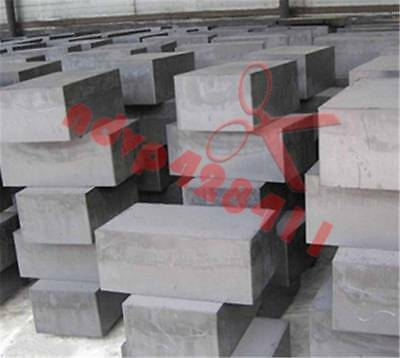 New 2pcs High Purity 99.9% Graphite Ingot Block 50mm * 50mm * 10mm