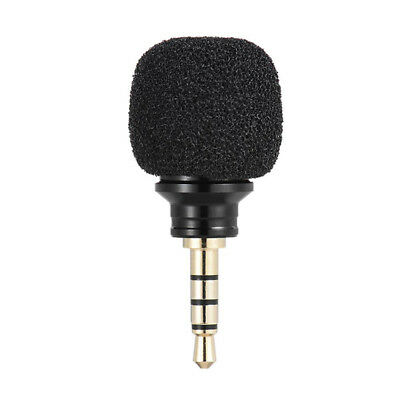 Mini Portable 3.5mm Plug Mic Microphone For-Recorder Mobile Smart Phone